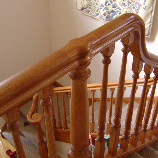 Heritage Handrail - Middle Post Cap (Vic Ash)_2