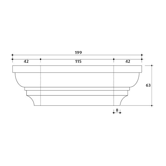 Large Post Capital Moulds for 115x115 Post_4