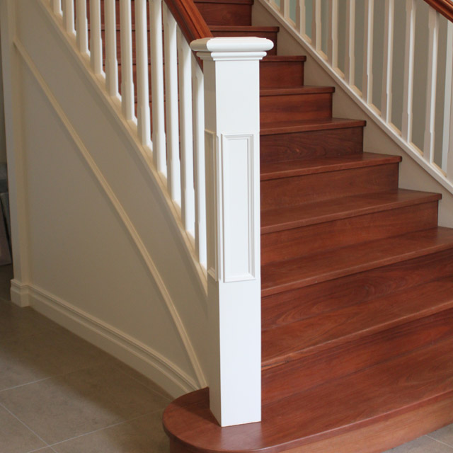 Prestige Plain Stair Posts with Recess 1500x155sq (Pine)_3