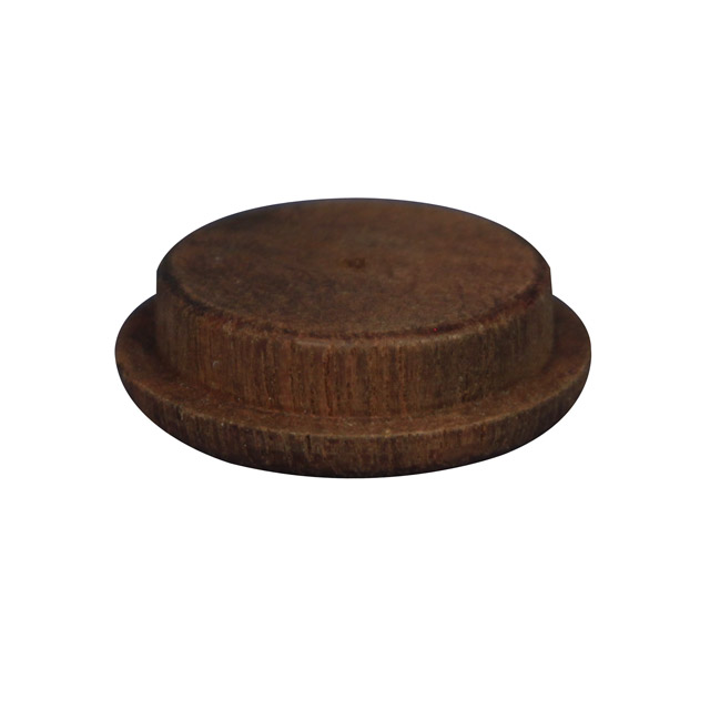 25.4mm (1 inch) Timber Cover Buttons (Jarrah)_2