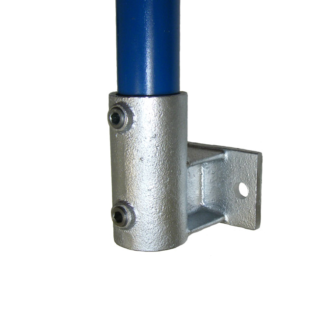 Upright Side Support (Horizontal Base) for 42mm Galv Pipe_1
