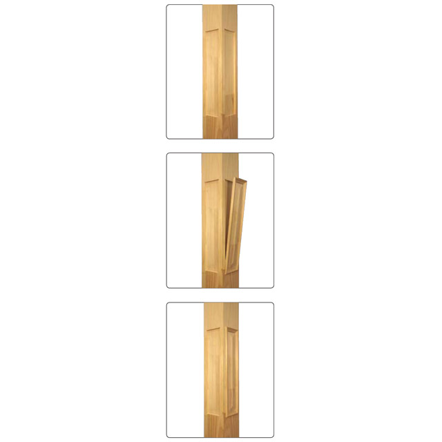 Prestige Plain Stair Posts with Recess 1500x155sq (Pine)_2