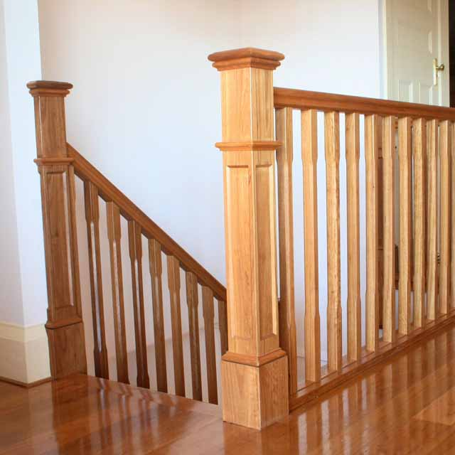 Chamfered Timber Balusters 1000x42sq (Vic Ash)_3
