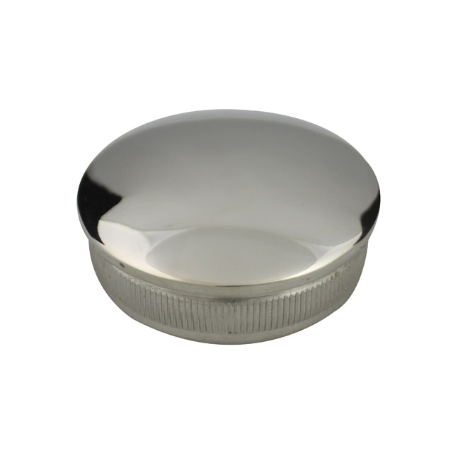 Radiused End Cap for 50.8 Round Mirror Tube_2