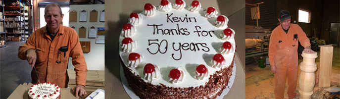 Kevin, Thanks For 50 Years