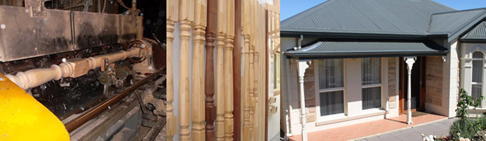 90sq and 115sq Treated Timber Verandah Posts