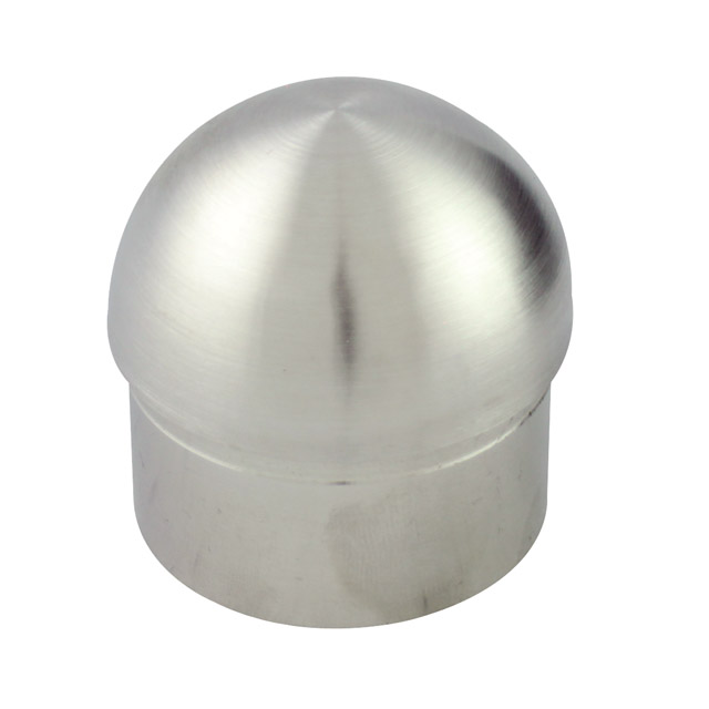 Half Ball End Cap for 50.8 Round Satin Tube_2