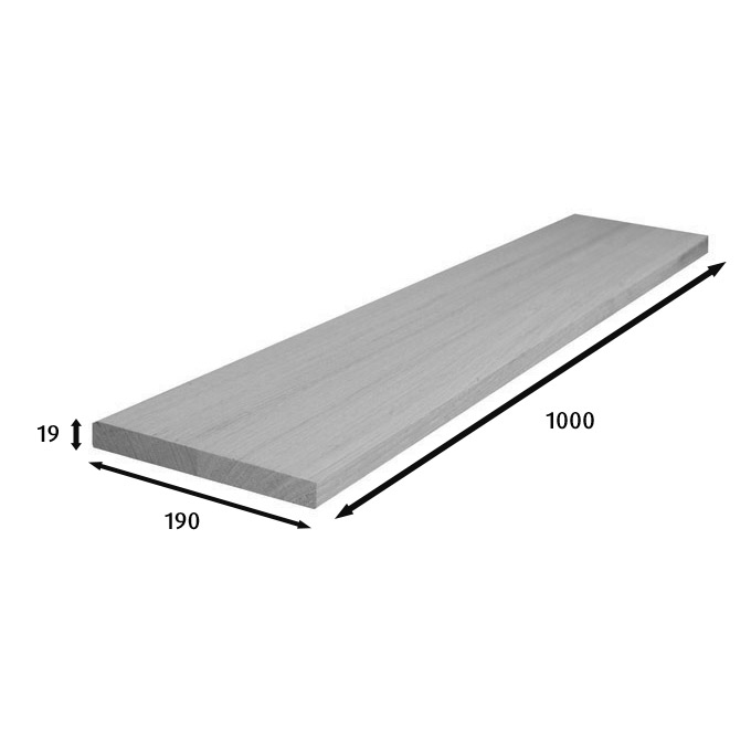 1000x190x19mm Stair Risers (Vic Ash)_2