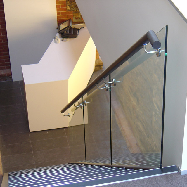 Ezirail 50mm diameter Handrails with Flat Base (Vic Ash)_2