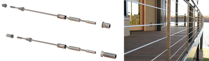 New Stainless Wire Balustrade System