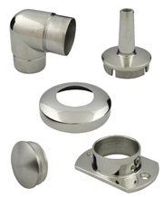 Round Stainless Steel Tube Fittings