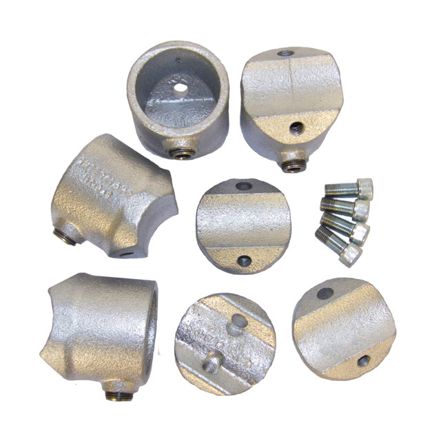 Retro-fit Fitting 4 Sockets for 48mm Galvanised Pipe_3