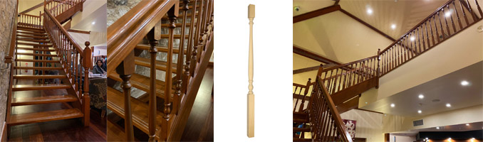 Classic Turned Timber Baluster