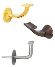 Handrail Brackets - Wall Mounted - Interior Use Only