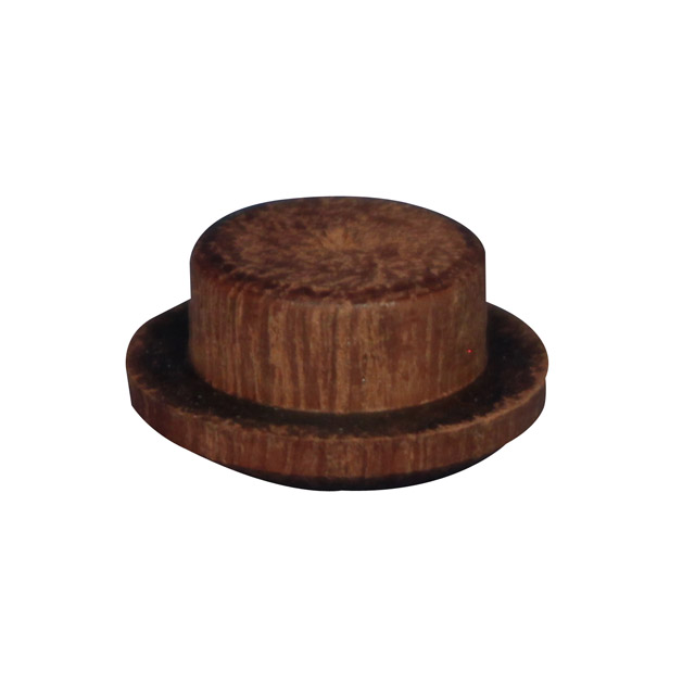 12.7mm (1/2 inch) Timber Cover Buttons (Jarrah)_2