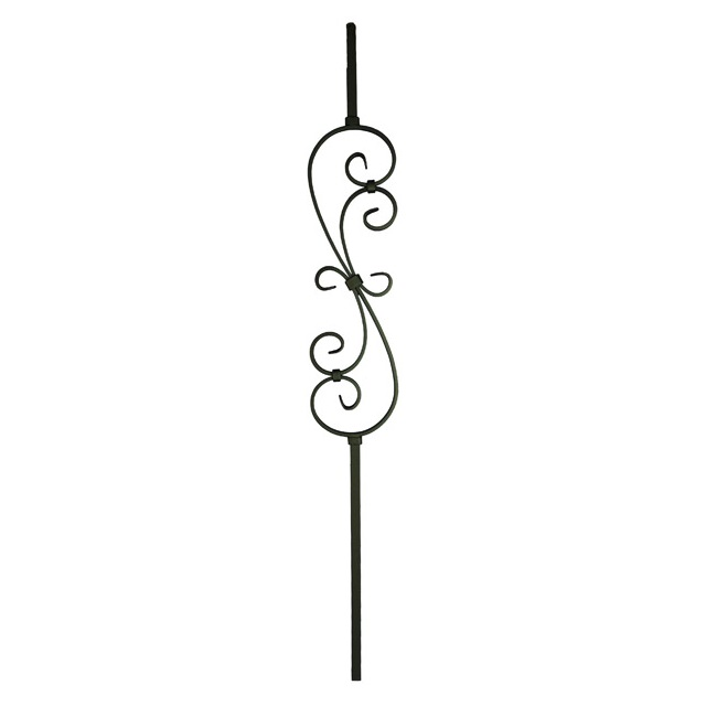 16mm round S Scroll Metal Balusters_1