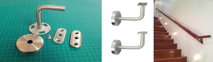 New Stainless Steel Handrail Brackets