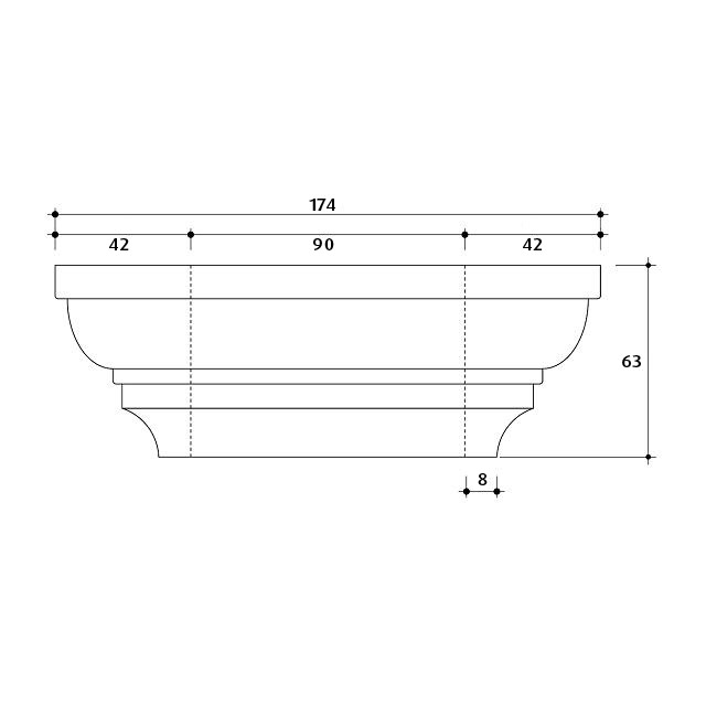 Large Post Capital Moulds for 90x90 Post_4