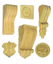 Timber Corbels and Carvings