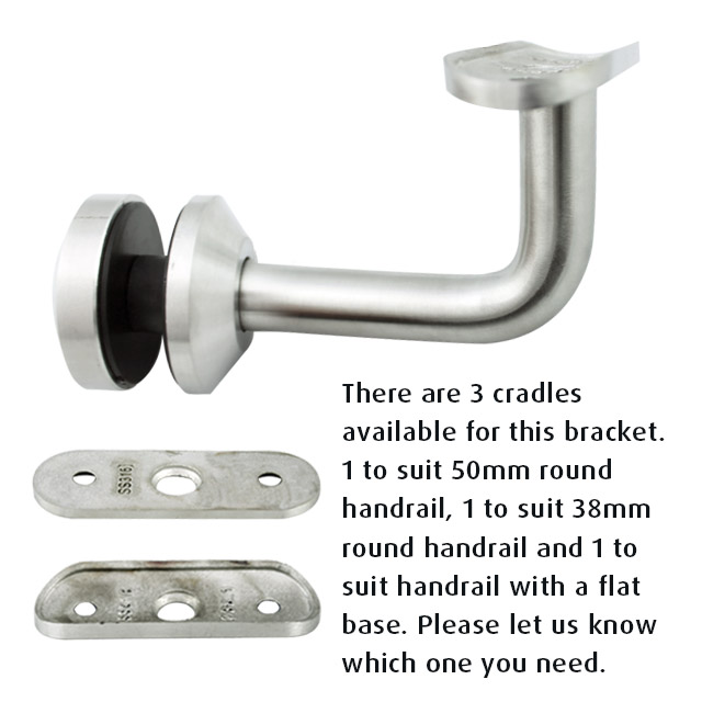 80mm Handrail Brackets for Glass (Satin)_1