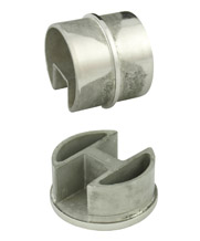 50.8mm Round Slotted Stainless Steel Tube Fittings