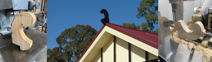 Gooseneck Roof Finial