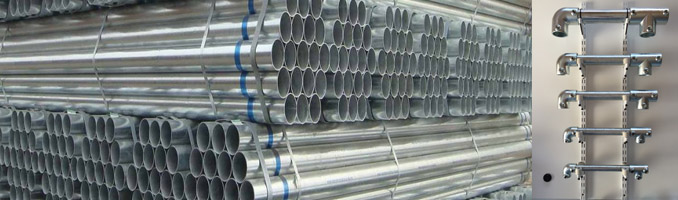 Galvanised Tube Available In 5 Different Sizes