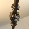 Round Wrought Iron Balusters