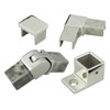25 x 21 Rectangule Slotted Stainless Steel Tube Fittings