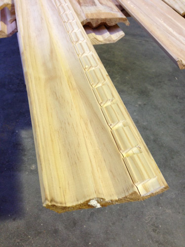 Pelmet and Dentil Timber Mouldings