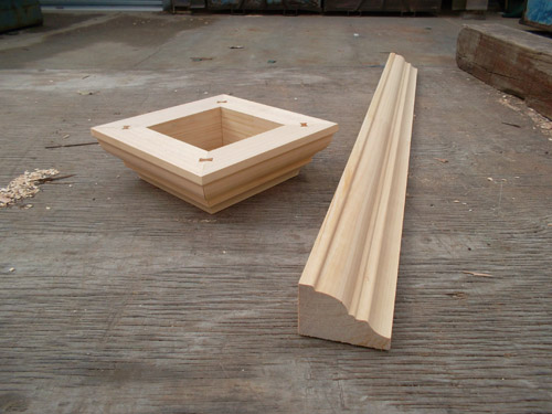 Wooden Post Moulds