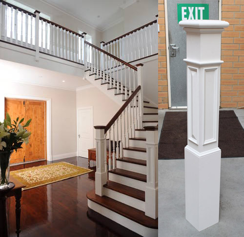 Timber Newel Posts