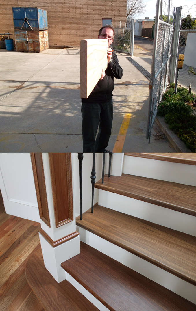 Wooden Steps for Stairs