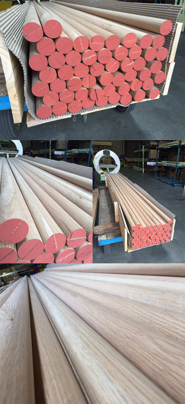 Round Dowel Timber Handrail