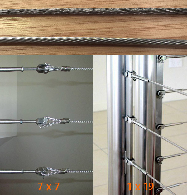 Wire Balustrade Rope and Fittings