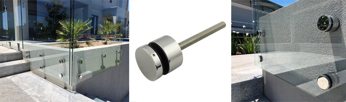Stainless Steel Standoffs For Glass Balustrade