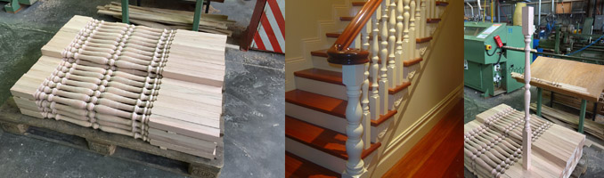Number 1 Turned Timber Baluster