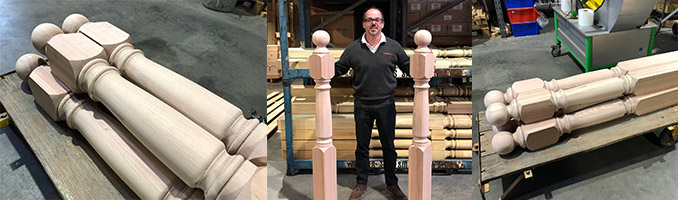 Large Newel Posts
