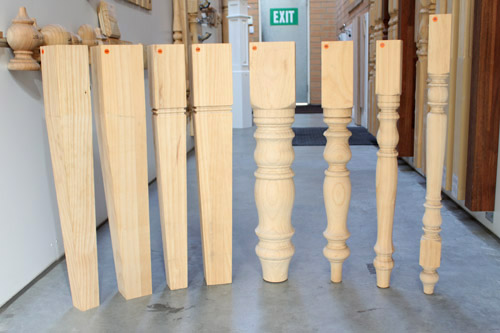 Wood Table Legs Available In Different Sizes And Styles