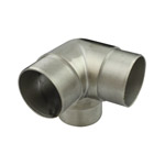 90 degree T for 50.8 Round Satin Tube