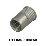 Rivet Nut M6 (Left Hand Thread)