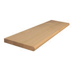 1200x285x33mm Stair Treads with Bullnose (American Oak)