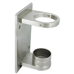 Side Mount Wall Bracket for 50.8 Round Satin Tube
