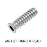 M6 Threaded Insert (Left Hand)
