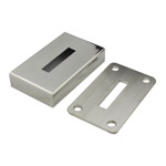 Base Plate and Cover for 10x50 Rectangular Mirror Tube
