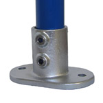 Floor Flange for 27mm Galvanised Pipe