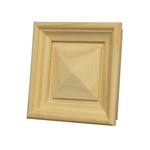 Small Pyramid Drop-In Panel for 115sq Stair Post