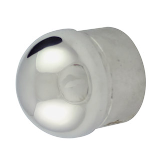 Half Ball End Cap for 38.1 Round Mirror Tube