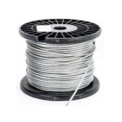 8.0mm Wire Cable Rope - 7x7 - 305 metre Reel