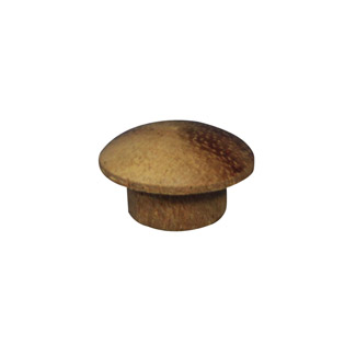 9.5mm (3/8 inch) Timber Cover Buttons (Meranti)